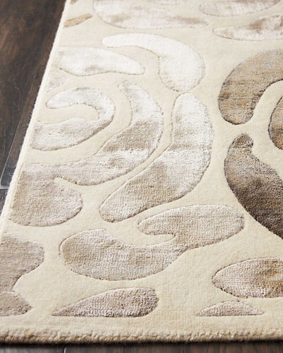 Fleurs Hand-Knotted Rug, 8' x 10'