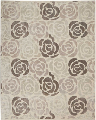 Christopher Guy Fleurs Hand-Knotted Rug, 8' x 10'