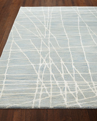 Image 2 of 3: Bane Hand-Tufted Rug, 5.6' x 8.6'