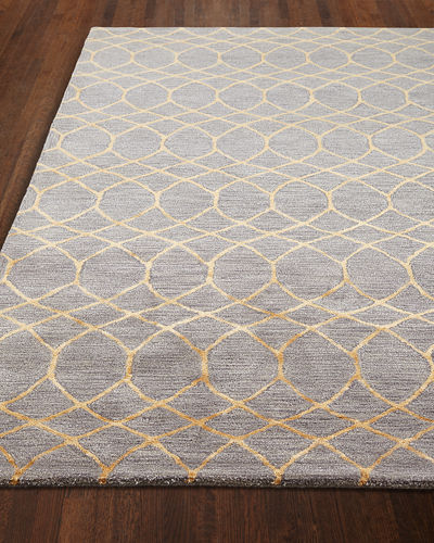 Noah Hand-Tufted Runner, 2.6' x 8' and Matching