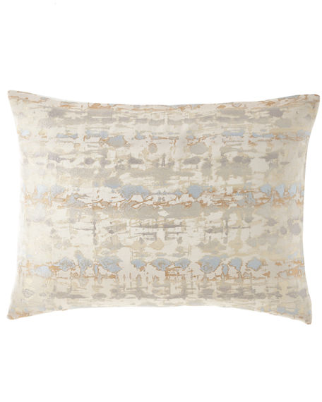 Fino Lino Linen & Lace Bebe Standard Sham with Polivia Backing