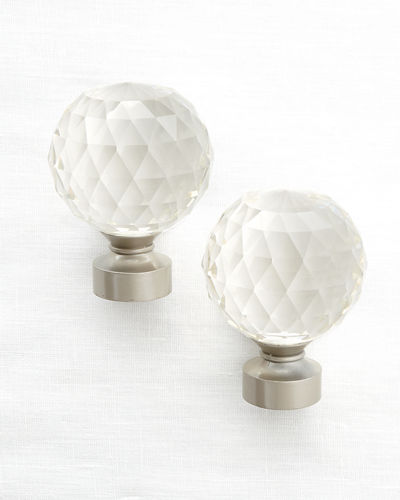 Milan Ophelia Finials, Set of 2