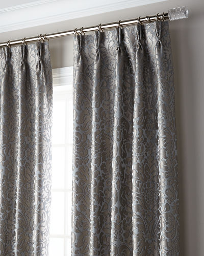 6009 Parker Bellantine 3-Fold Pinch Pleat Blackout Curtain