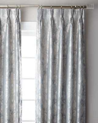 6009 Parker Bellamy 3-Fold Pinch Pleat Blackout Curtain