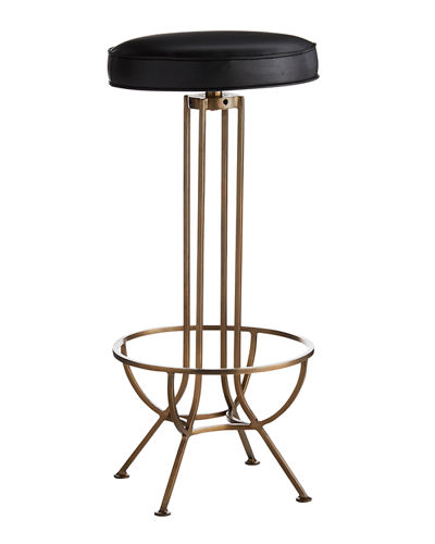 Bexah Leather Bar Stool