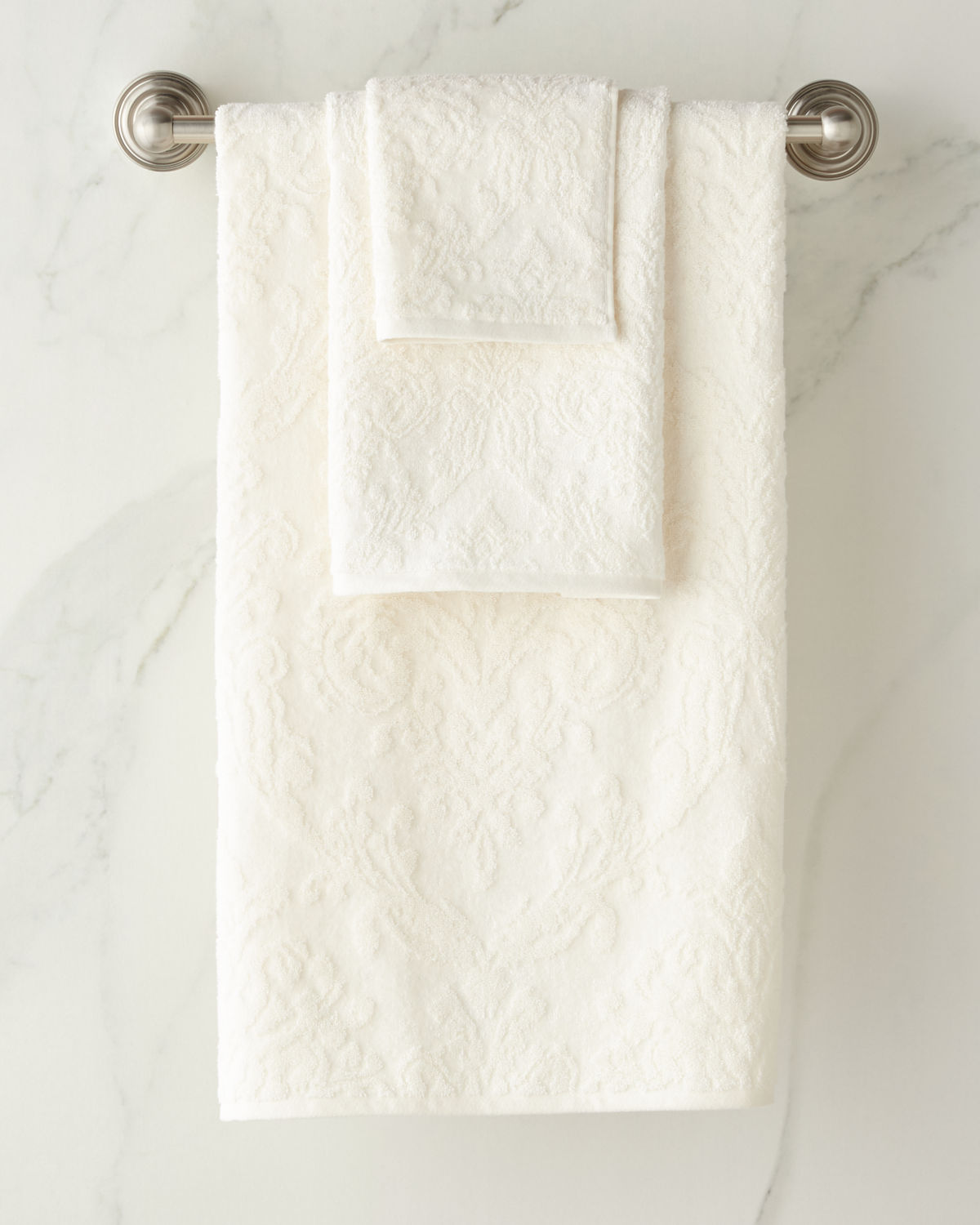 Riverside Damask Hand Towel