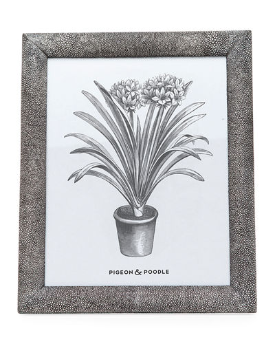 Oxford Faux-Shagreen Picture Frame, 8