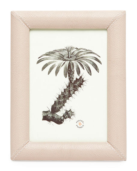 """Pigeon and Poodle Eton Leather Picture Frame, 5"""" x 7"""""""