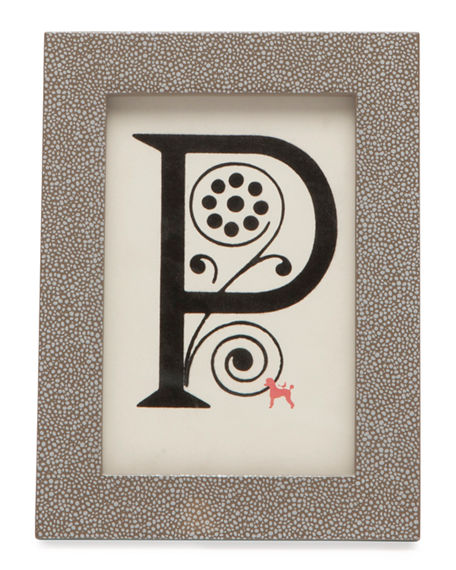 """Pigeon and Poodle Bressa Picture Frame, 4"""" x 6"""""""