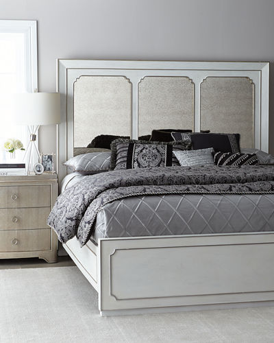 Eleri Modern King Panel Bed