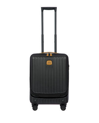 BRIC'S Capri 21-Inch Wheeled Carry-On - Black in Matte Black