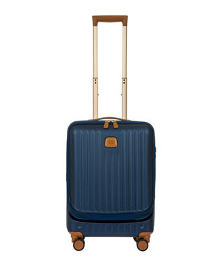 Capri 21-Inch Wheeled Carry-On - Blue in Matte Blue