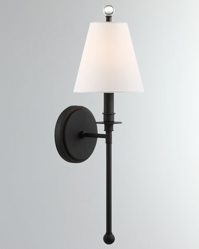 Riverdale 1-Light Sconce with Shade