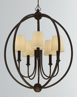 Neiman marcus lighting Flower Crystorama Sylvan 5light Chandelier Neiman Marcus Chandelier Pendant Lighting At Neiman Marcus