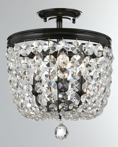 Archer 3-Light Crystal Ceiling Mount