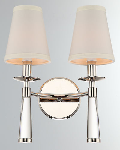 Crystorama Baxter 2-Light Oil Sconce