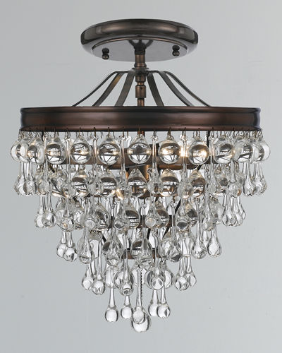 Calypso 3-Light Crystal Mini Chandelier