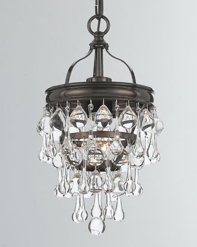 Calypso 1-Light Mini Chandelier