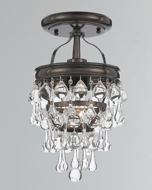 Advanced Amber Glass Chandelier Lamp Comfortable Feel Ceiling Lights & Fans