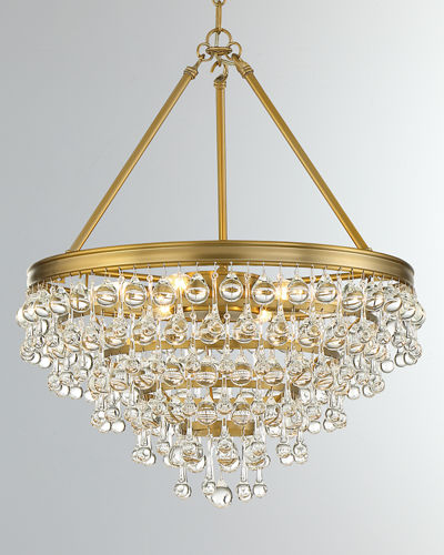 Calypso 6-Light Crystal Chandelier