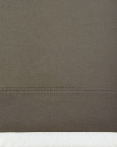 Queen 464 Thread Count Percale Fitted Sheet
