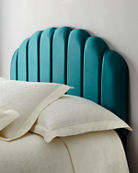 Ariel Channel Tufted Twin Headboard and Matching Items