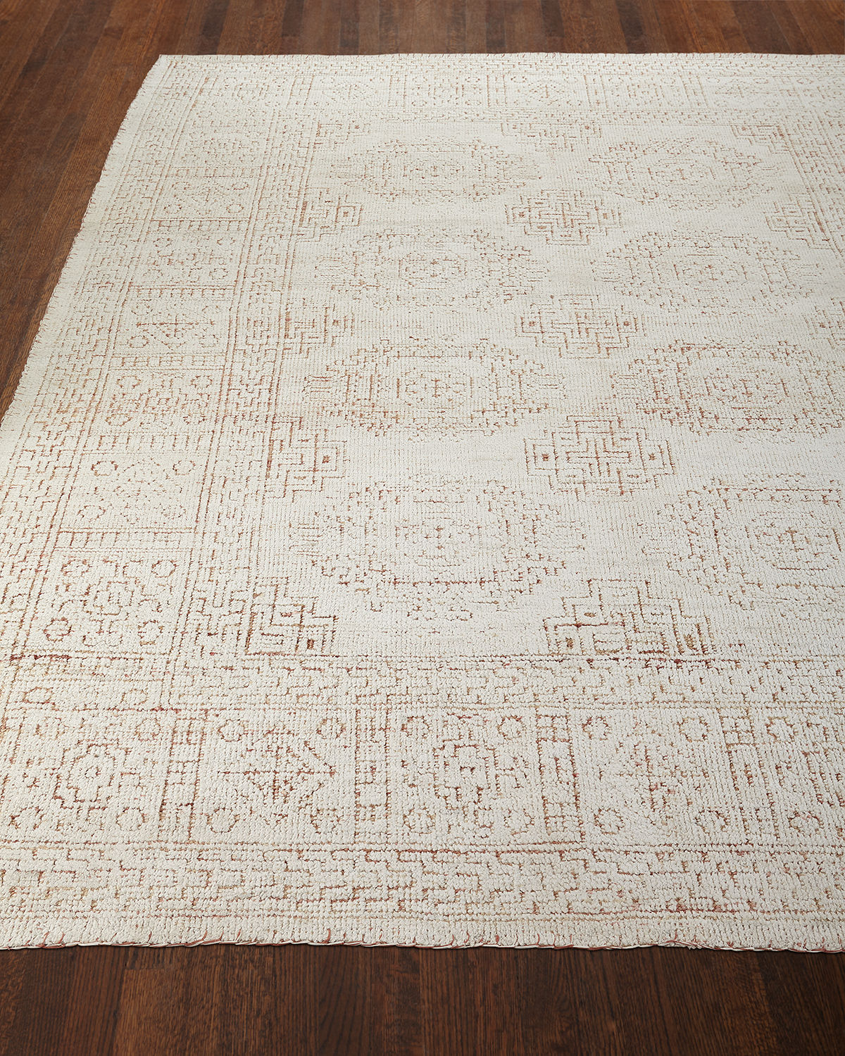 Luna Hand-Knotted Rug, 4' x 6'