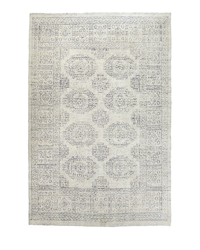 Luna Hand-Knotted Runner, 2.8' x 12'