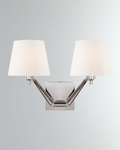 Union Double-Arm Sconce