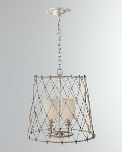 Edgerly Large Woven Lantern  Light