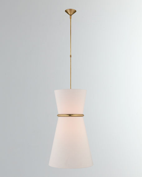 AERIN Clarkson Large Single Pendant Light Neiman Marcus - Large single pendant light