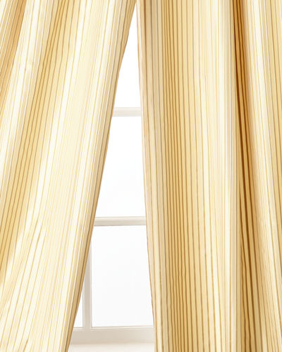 "Home Silks Silenzio Curtain Panel, 96""L"