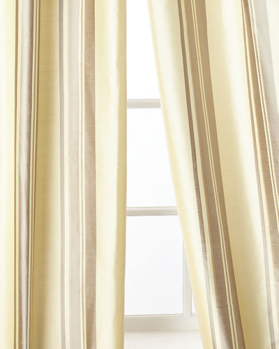 "Home Silks Ferris Curtain Panel, 108""L"