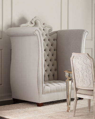 Ella Tufted Loveseat