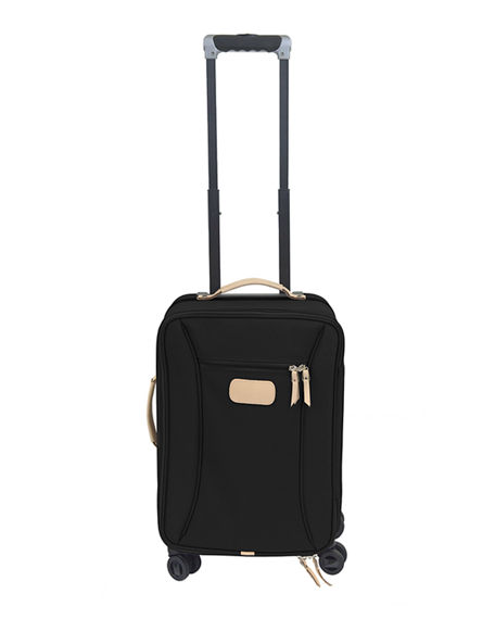 Image 2 of 2: Jon Hart Coated Canvas Carry-On Luggage with Wheels