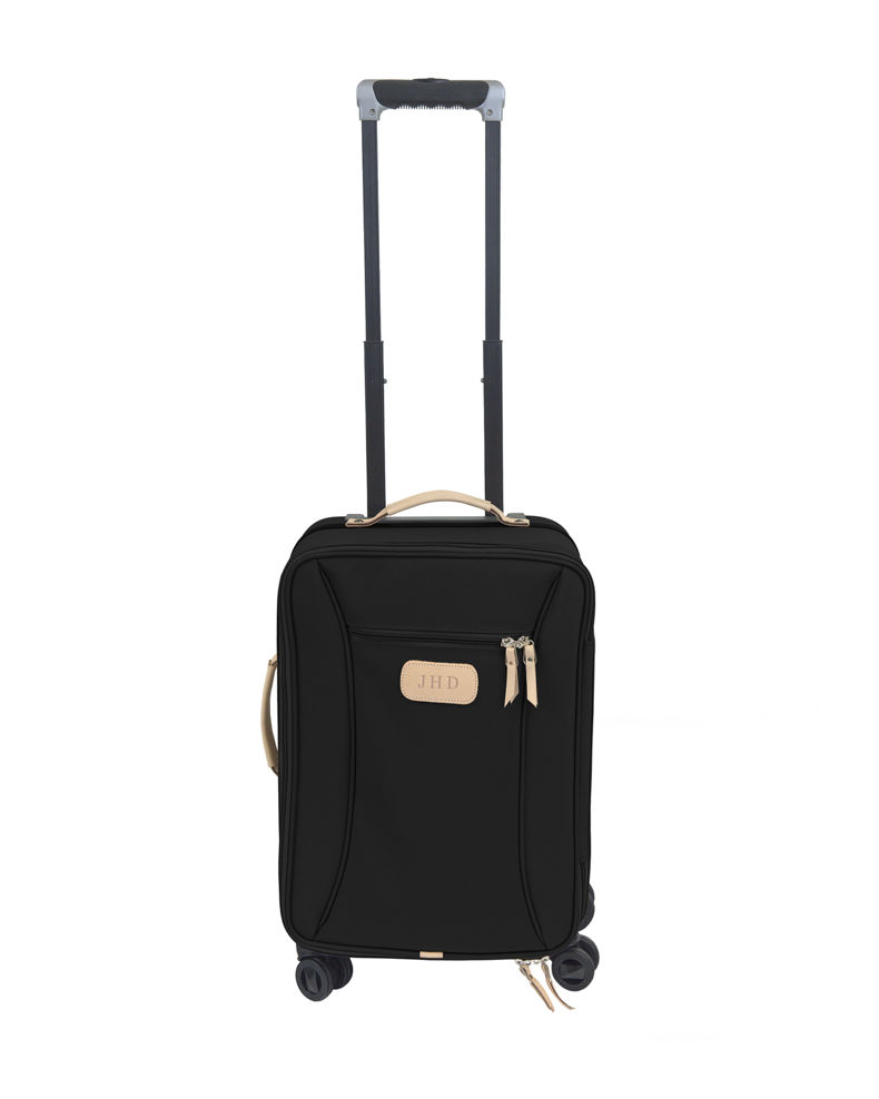 Jon Hart Coated Canvas Carry-On Luggage with Wheels