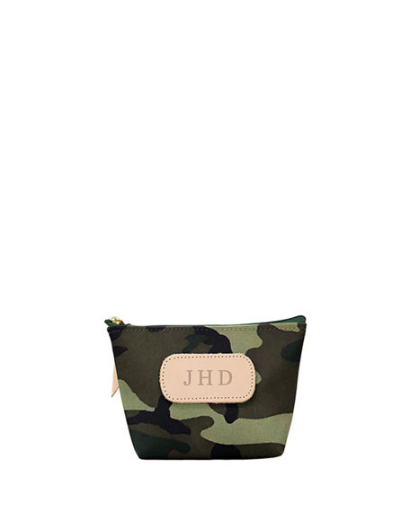 Jon Hart Coated Canvas Chico Cosmetic Bag