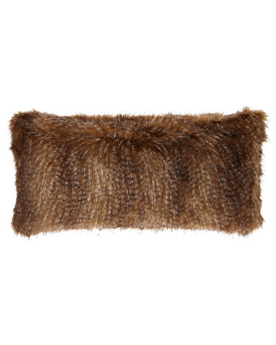 Faux-Fur Large Rectangle Pillow