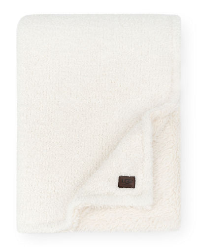 Ana Reversible Cozy Knit Throw Blanket