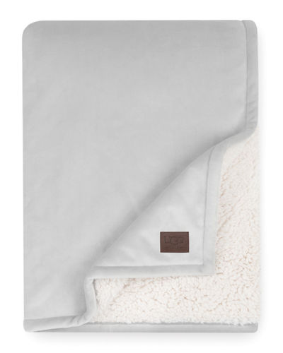 Bliss Reversible Sherpa Throw Blanket