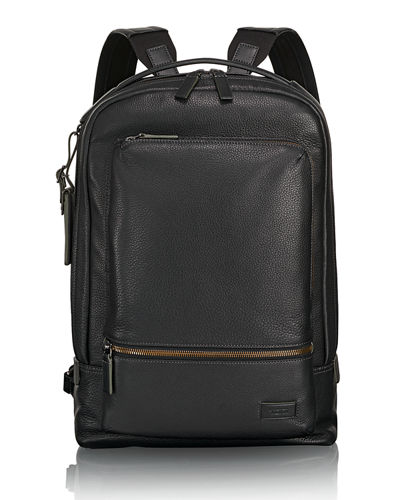 Bates Leather Backpack with 14