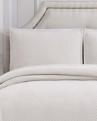 Garment-Washed Queen Coverlet