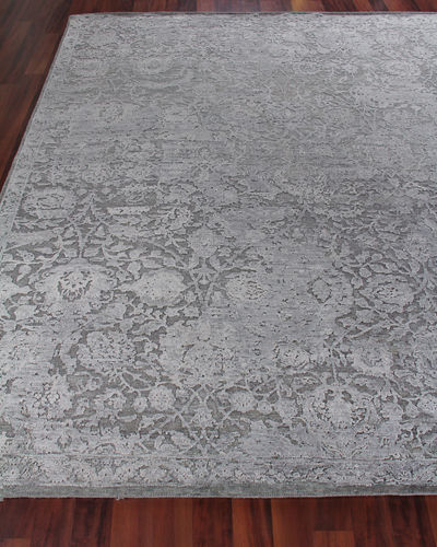 Augustin Hand-Knotted Rug, 6' x 9'