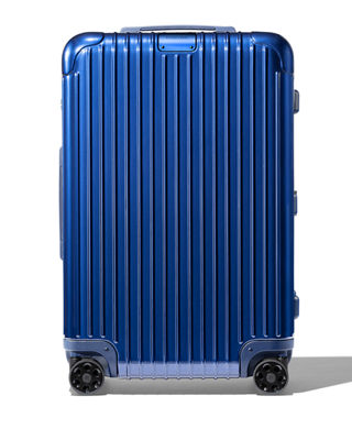 RIMOWA Essential Cabin Spinner Luggage in Matte Blue