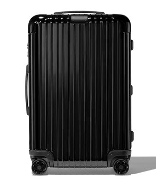 RIMOWA Essential Check-In M Spinner Luggage in Black Gloss