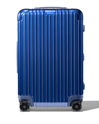 RIMOWA Essential Check-In M Spinner Luggage in Matte Blue