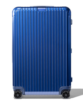 RIMOWA Essential Check-In L Spinner Luggage in Blue Gloss