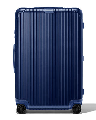 RIMOWA Essential Check-In L Spinner Luggage in Matte Blue