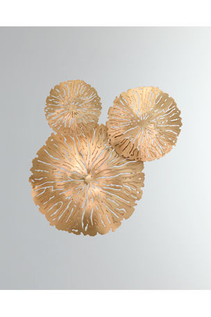 Global Views Lily Pad Clusters, Set of 3