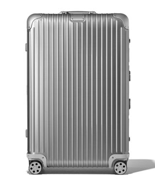 RIMOWA Original Check-In L Spinner Luggage in Silver